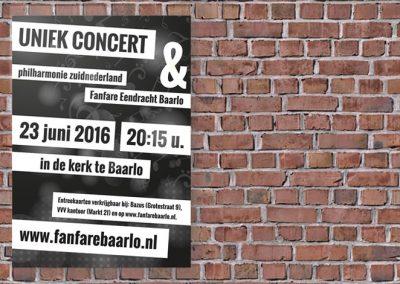 Promotie concert Fanfare Eendracht Baarlo