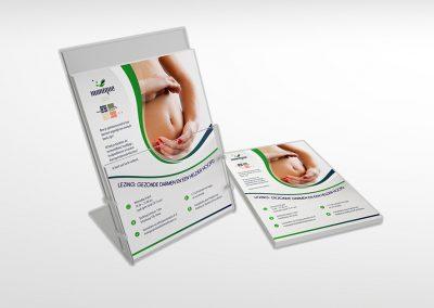 Flyer lezing 'Gezonde darmen en een helder hoofd'