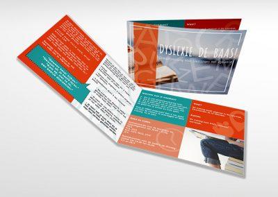 Logo, poster en folders Praktijk Ferweda