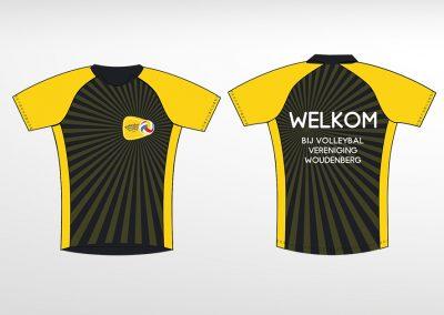 Huisstijluitingen Volleybalvereniging Woudenberg