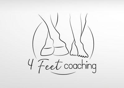 Logo 4 Feet coaching